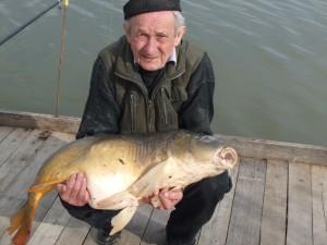Schneiker Jakab Almamellék 19 kg. Tükörponty